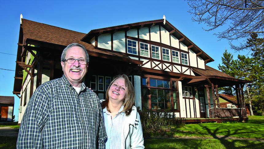 Anneke Summer Home in Duluth News Tribune