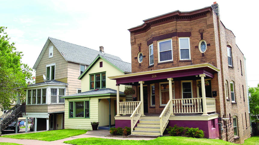 St. Mary's Apartments and Central Hillside property in Duluth News Tribune
