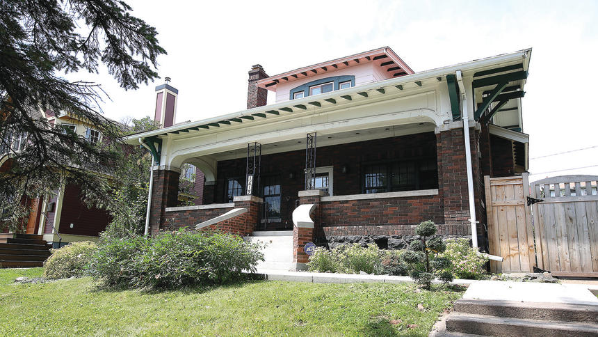 Chester Creek Home in Duluth News Tribune