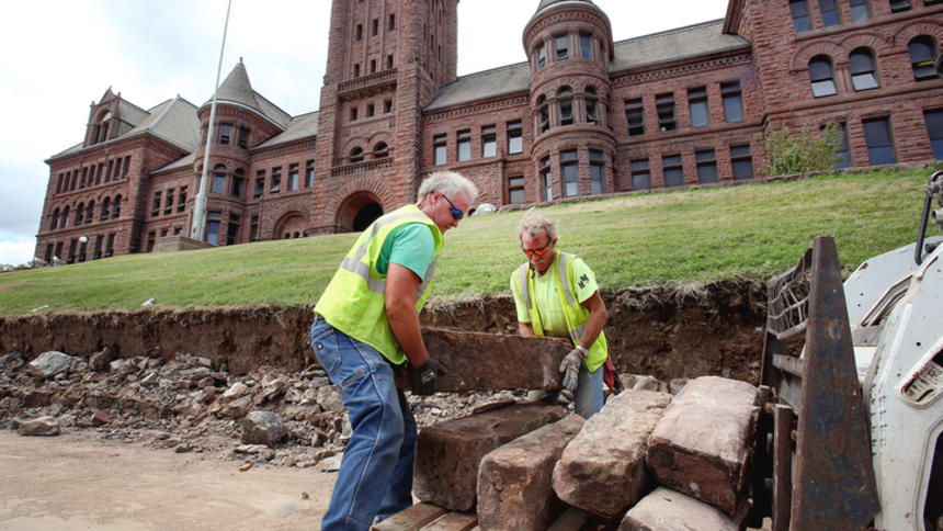 Historic Old Central in Duluth News Tribune